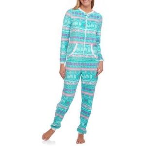 Secret treasure onesie pj 2 x nwt